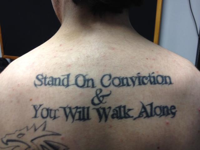 Lamb Of God Lyrics Tattoo